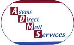 ADMS | Adams Direct Mail Services Logo